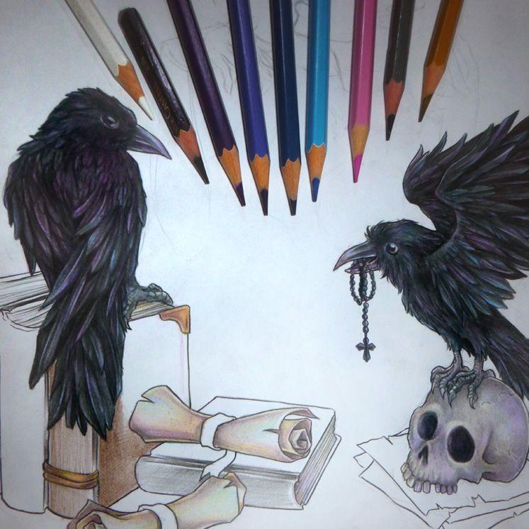 drew evenings bit ravenpicture - zadzenea | ello