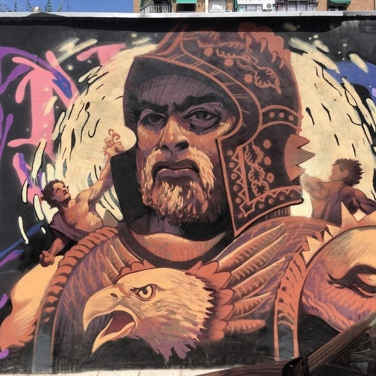Conqueror - Madrid, Lavapies, streetart - antoniofse | ello