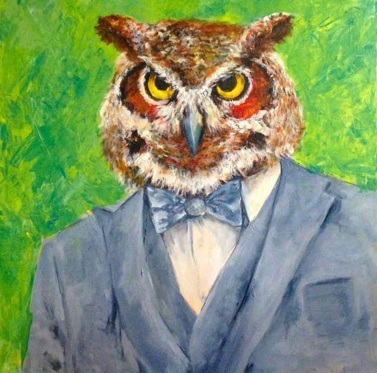 Elegant Fowl Part Owl Pussycat  - jennifervonstein | ello