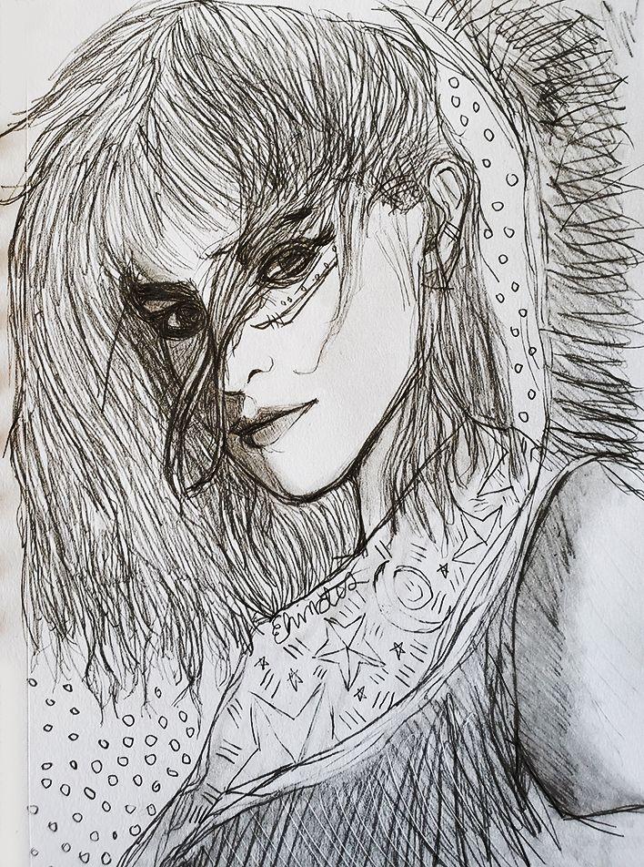 tousled dreams - fanart, illustration - andaelentari | ello