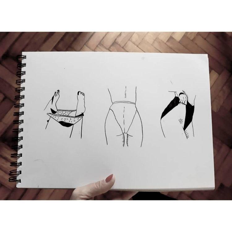 Erotic illustration. 3 pieces p - den_rosas   ello