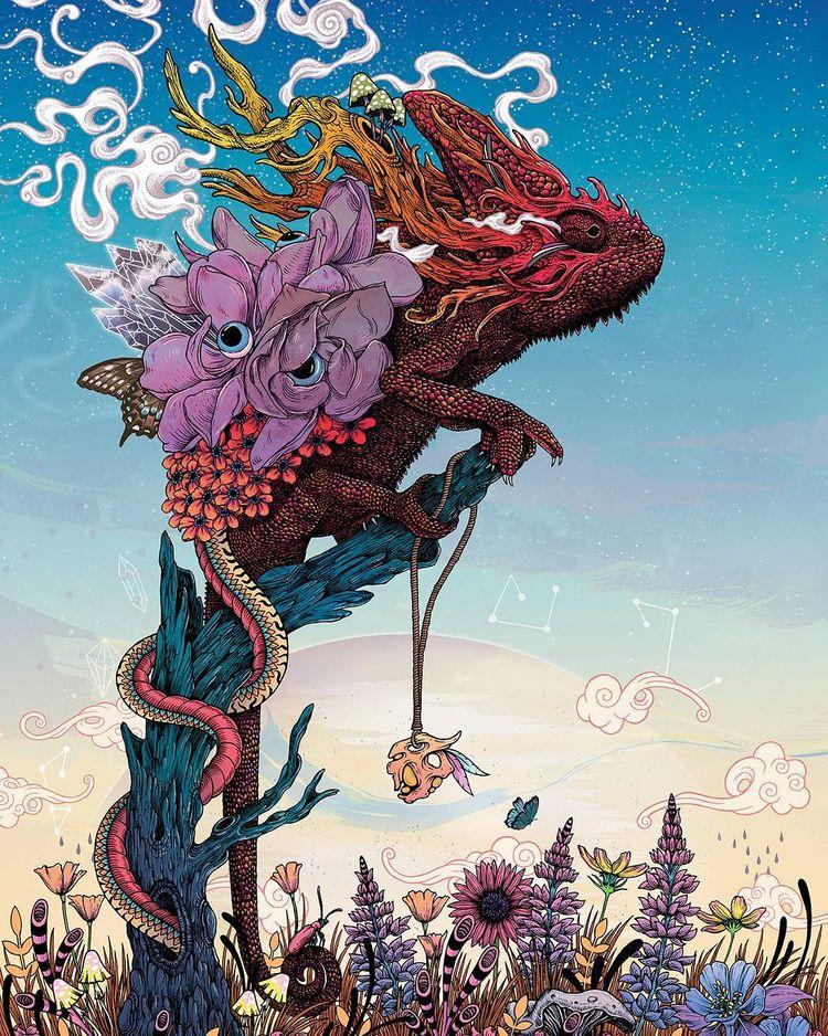 'Phantasmagoria II' Mat Miller - wowxwow | ello