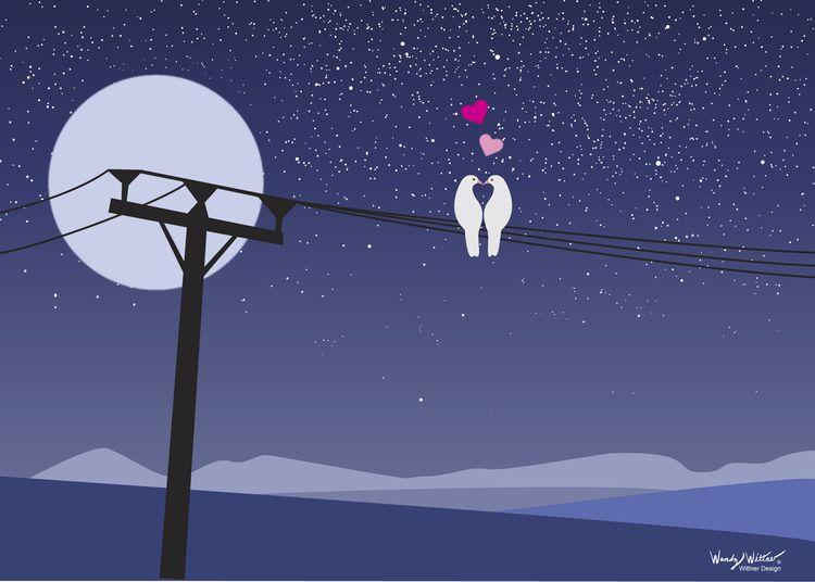 Love Ya (Night Doves - wwittner | ello