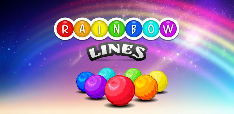 Rainbow Lines classical puzzle  - pozirk   ello