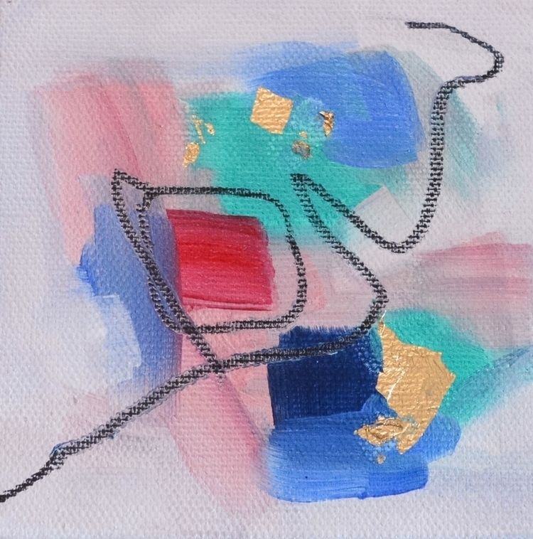 art#abstractpainting#goldleaf#abstractart#abstractartist#elloart#intuitive#abstraction#contemporaryart#acrylic#artworkartoftheday#abstract#emergingartist#ncartist#northcarolina#nc - oliviargrayart | ello