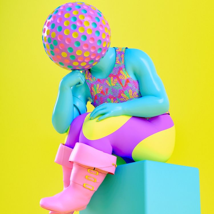 Surrealism, bold colors, influe - thefloatingmagazine | ello