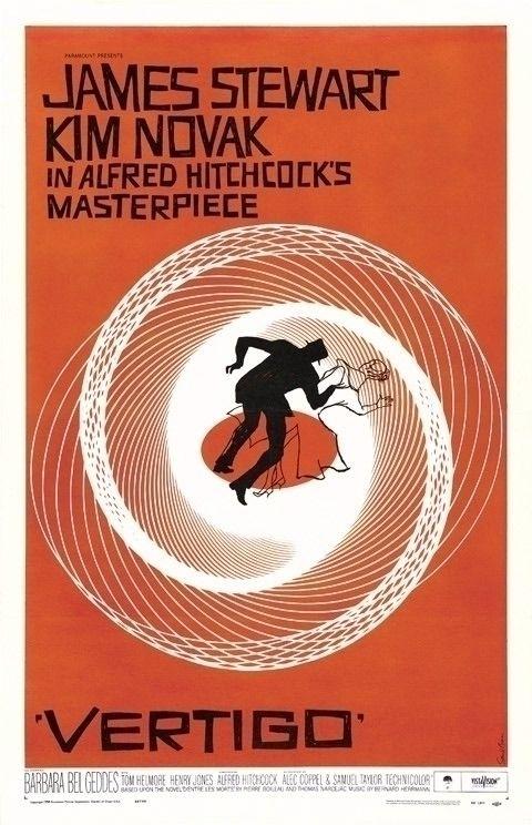 VERTIGO (1958) sheet movie post - peligropictures | ello