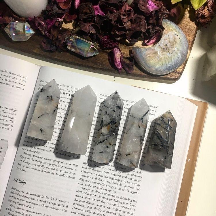 healingcrystals, crystals, blacktourmaline - kristalcave | ello