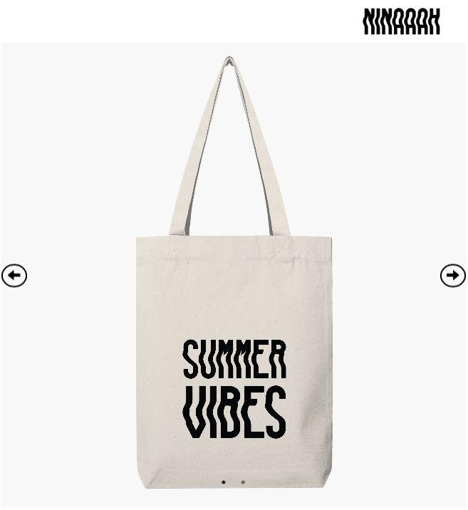 SUMMER VIBES EDITION - tshirt, totebag - ninaaah | ello