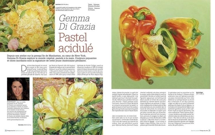 special pastel issue French art - gemmadigrazia | ello