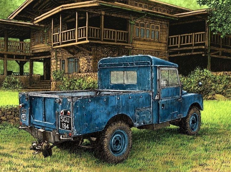 Series 1 lwb Land Rover Ramblin - dannybriggs | ello