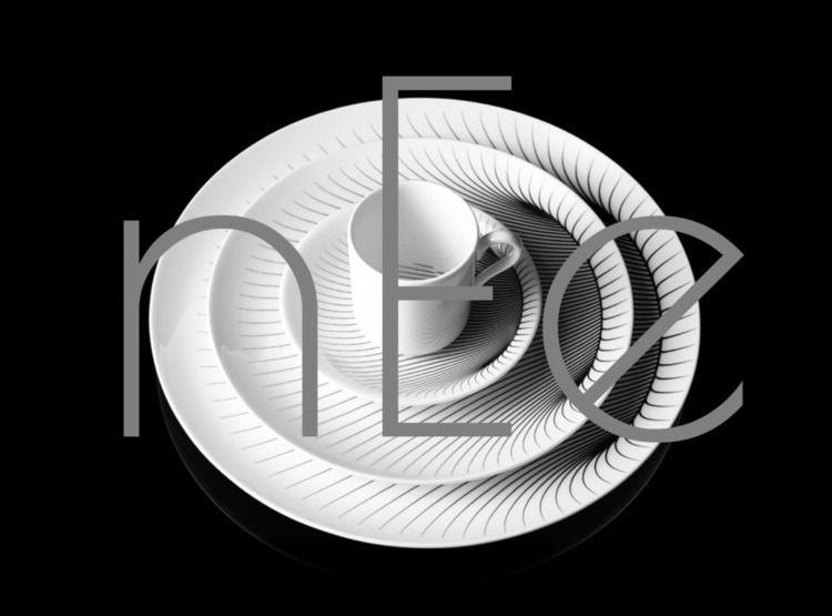 uncomplicated: bit black white  - minimalist | ello