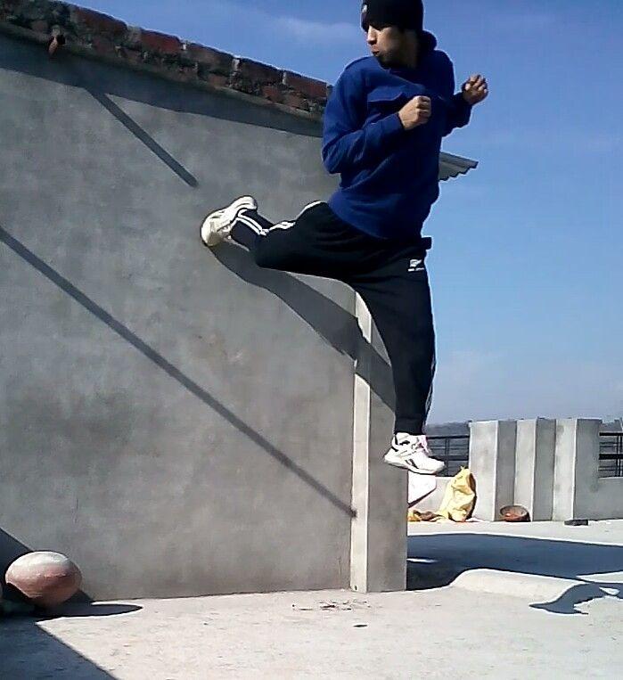 good Spin Jab - Taekwondo... - balvirsingh | ello