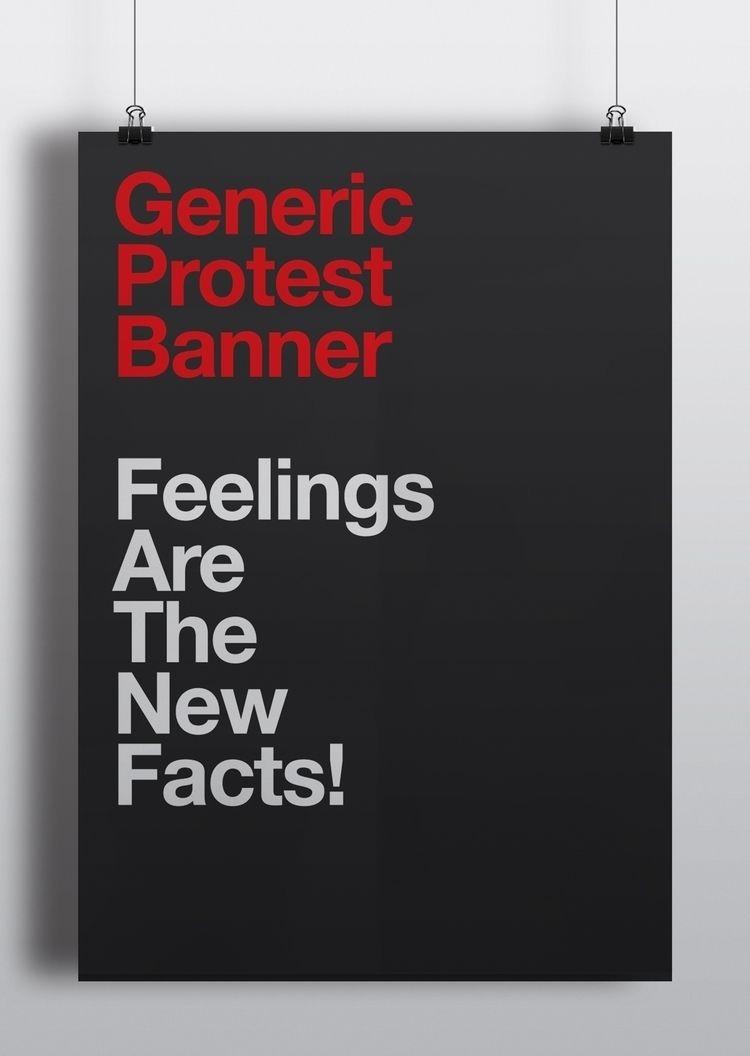 Generic Protest Banners Feeling - puntoaparte | ello