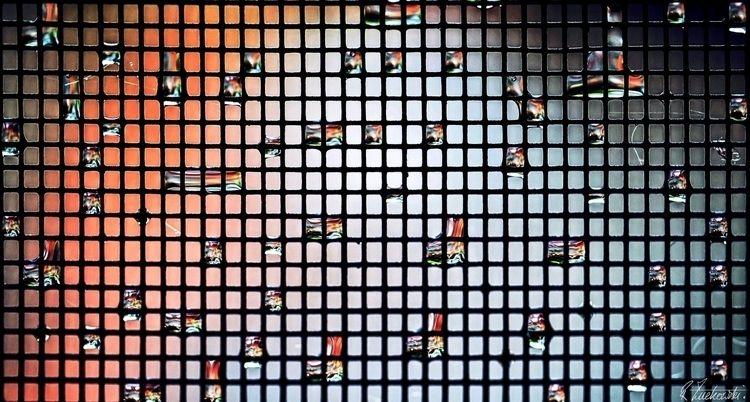 tetragonal dewdrops - robzucho, - abstractcolorism | ello