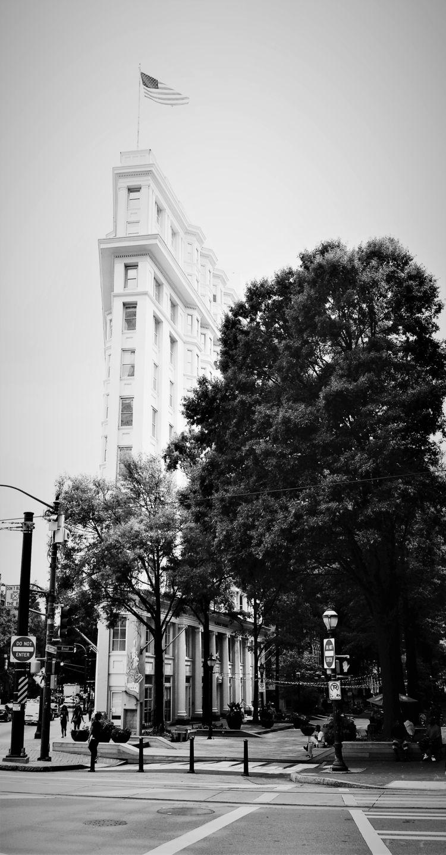 Luckie Street view - blackandwhite - drewsview74 | ello