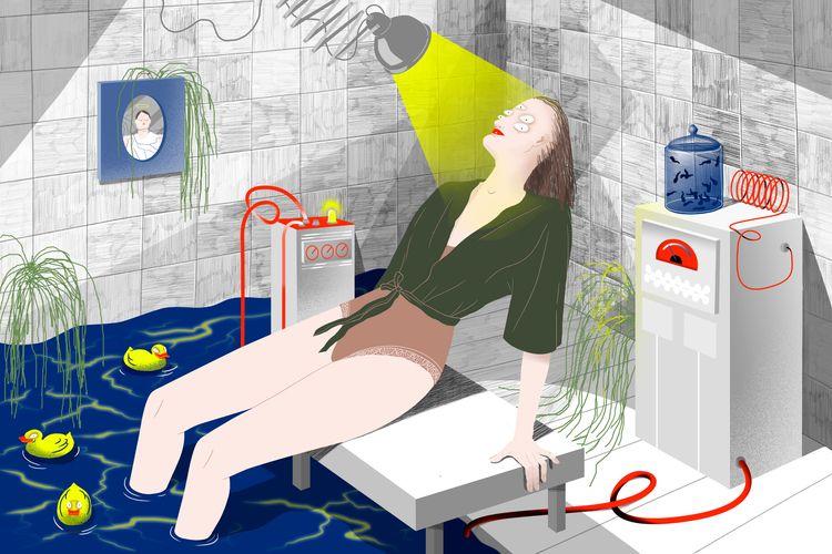 Theta healing illustration onli - belousova | ello