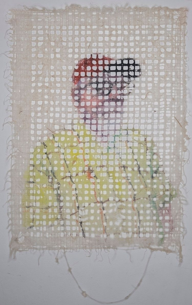 textiles, paper, texture, portrait - yuliavirko   ello