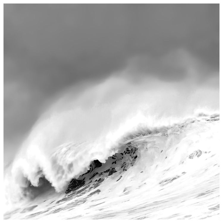 sea, wind... Wave La mer, le ve - murielleetc | ello