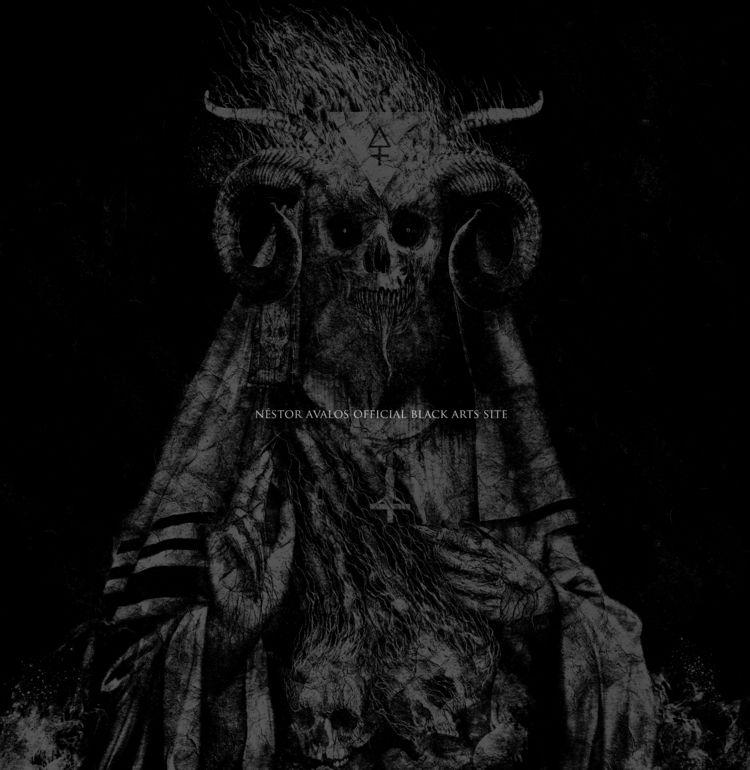 Azazel - Dark Rabbi / illuminat - nestoravalosofficialblackartssite | ello