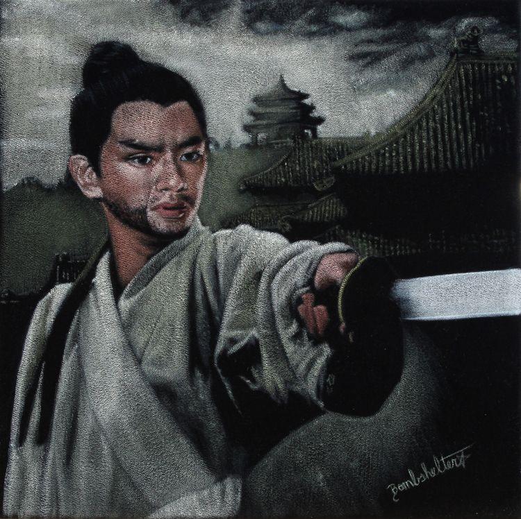 Jimmy Wang Yu Swordsman, acryli - dianebombshelter   ello