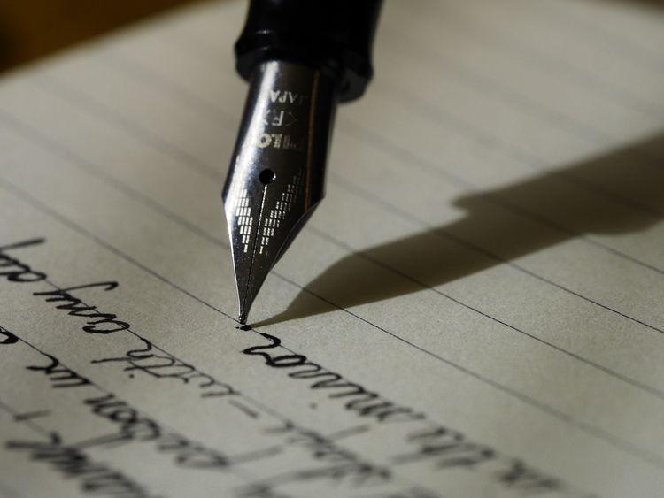 inked poetry ichor veins -Heman - hemantbadola | ello
