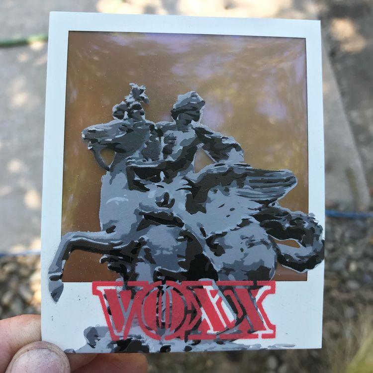 Stencil polaroid film - Trocade - voxxromana | ello