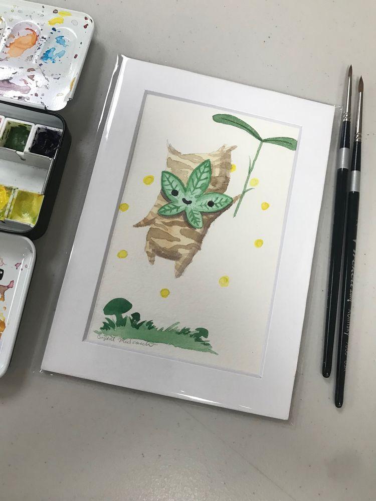 Cute Kurok Zelda <3 Painting - smushbox | ello