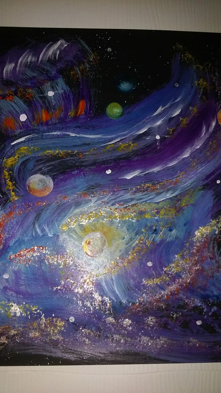 universe Painting Channie Davis - channiedavis | ello