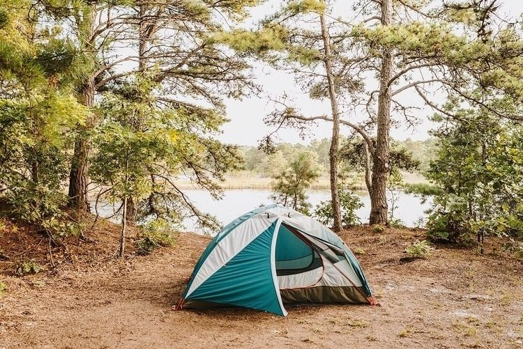 tent, camping, camp, lake, lakeside - jennymccabe | ello