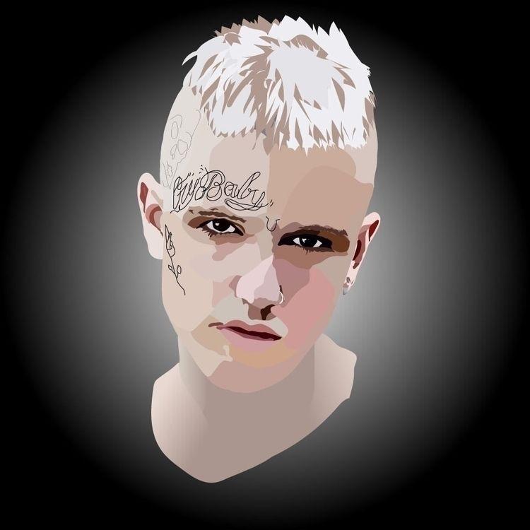 Lil Peep Memoriam Piece Digital - loramarshdesign | ello