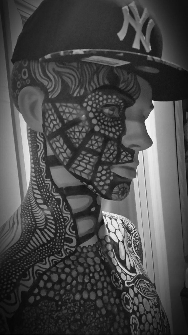 man tattoo face Mario vitale Su - coinmakerusa | ello