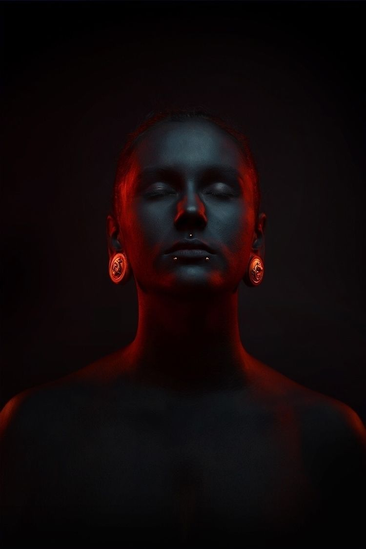 """Black Evil"" — Photographer/Con - darkbeautymag | ello"