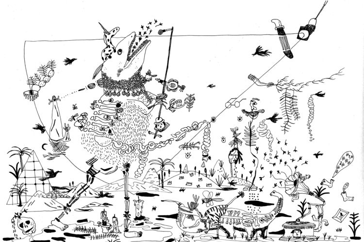 ink drawings result unconscious - draw_spring   ello