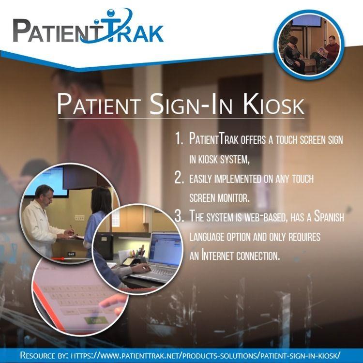 Patient Kiosk PatientTrak offer - patienttrak   ello