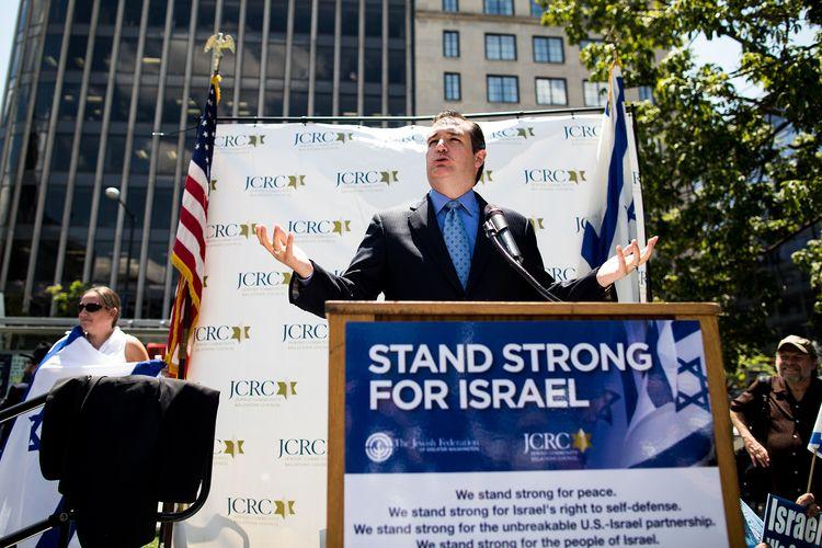 Ted Cruz Israeli Mouthpiece Pre - batr | ello