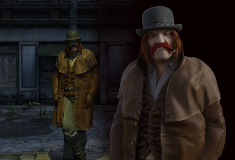 Grimjack Character recreation.  - cirroccojones | ello