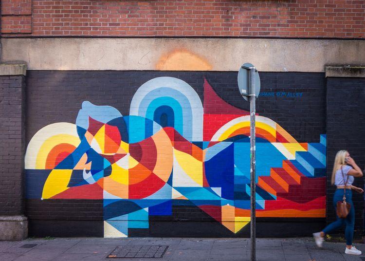 Mural painted weeks - streetart - shaneomalleyart | ello