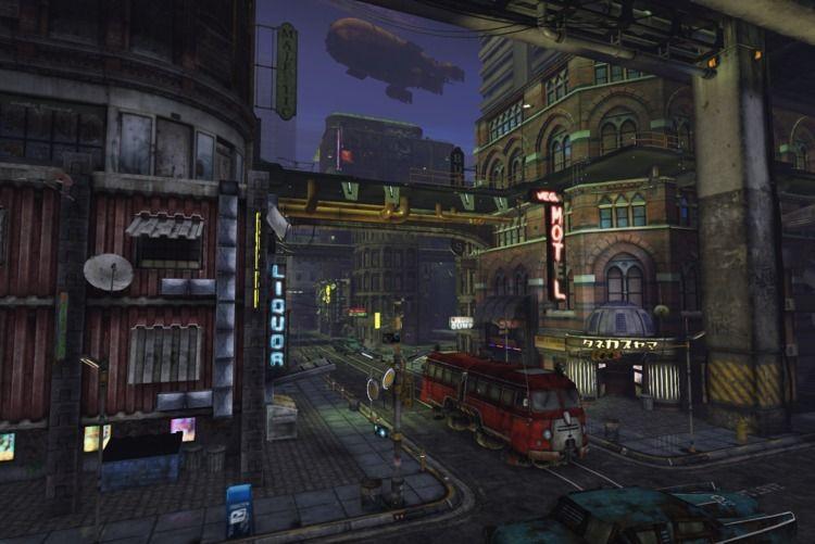 Street scene Cynosure night. Gr - cirroccojones | ello