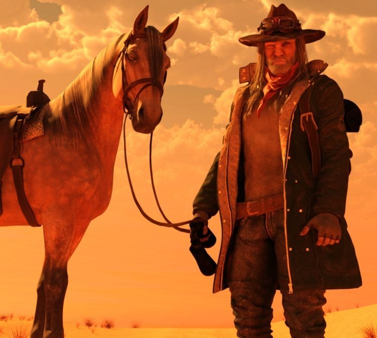 main character, Claude, horse,  - cirroccojones   ello