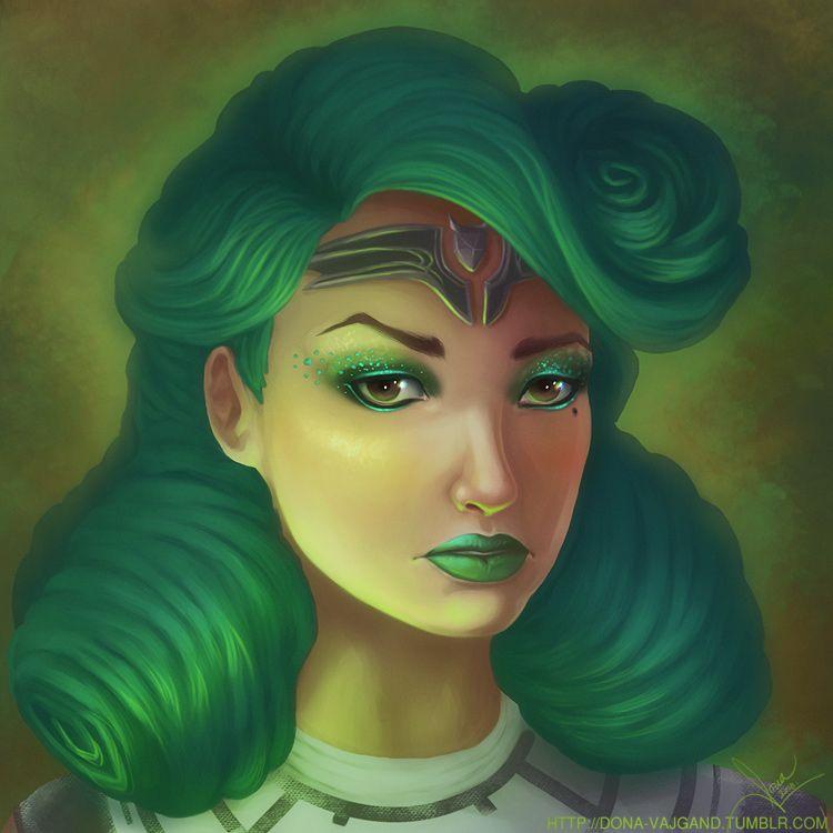 Ivy Tansu insufficient-focus - illustration - donavajgand | ello