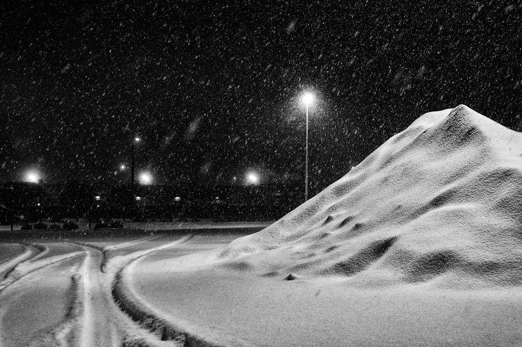 Parking Lot Snow Mountain - snow - jeff_day | ello