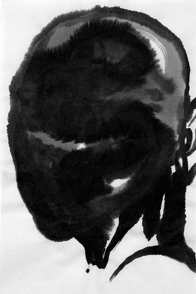 inkwash, figurative, portrait - mlui | ello
