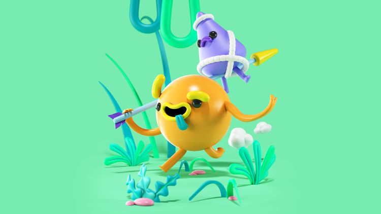Food! Follow cool stuff - 3d, character - eloykrioka | ello