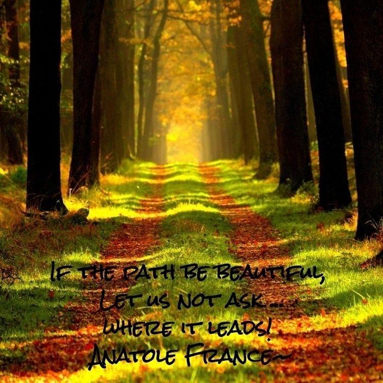 Path Beautiful, Leads! Anatole  - dare2bare | ello