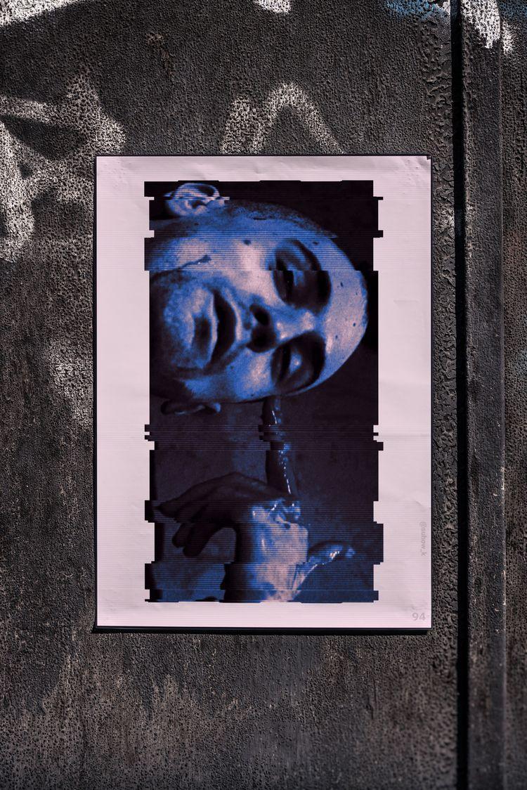 poster №94 - glitch, glitchart, glitchartistscollective - suhow_k | ello