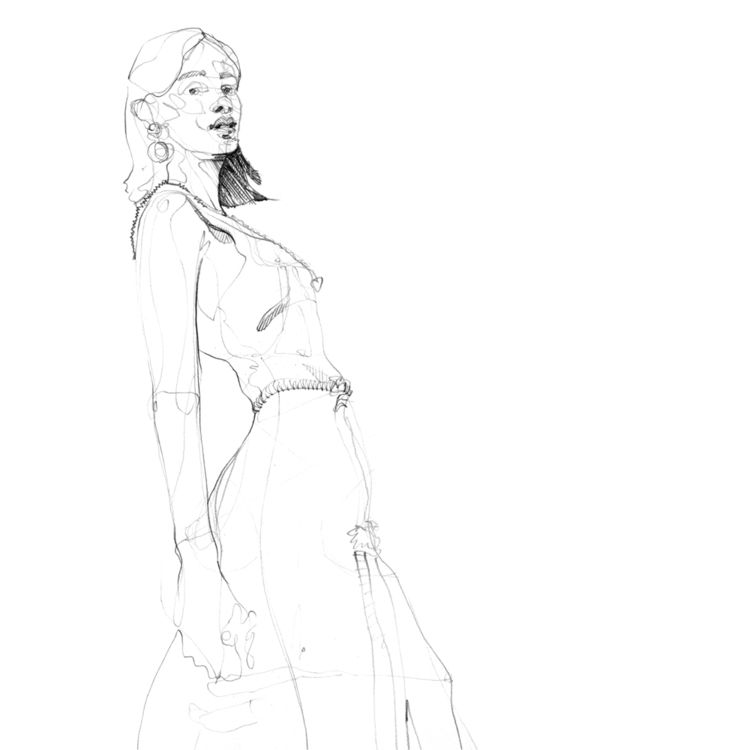 sketchbook, figurestudy, linedrawing - jasonthielke | ello