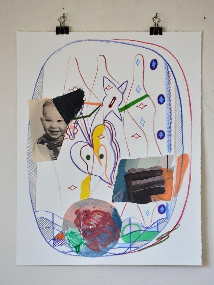 kid 2018, colour pencil, acryli - tonyvandenboomen | ello