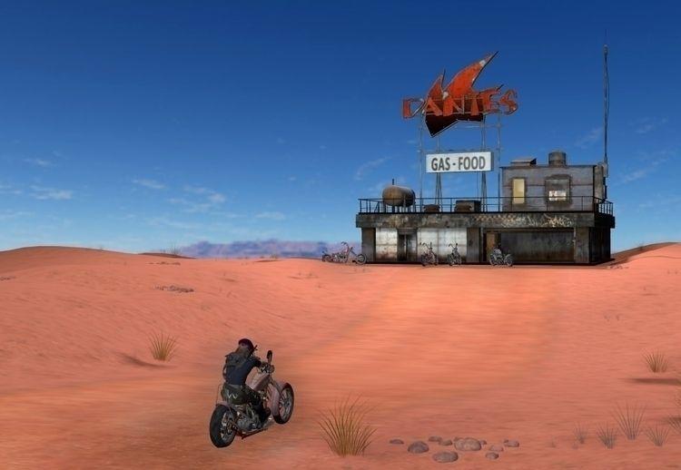 John Guant rides Dead Station E - cirroccojones | ello
