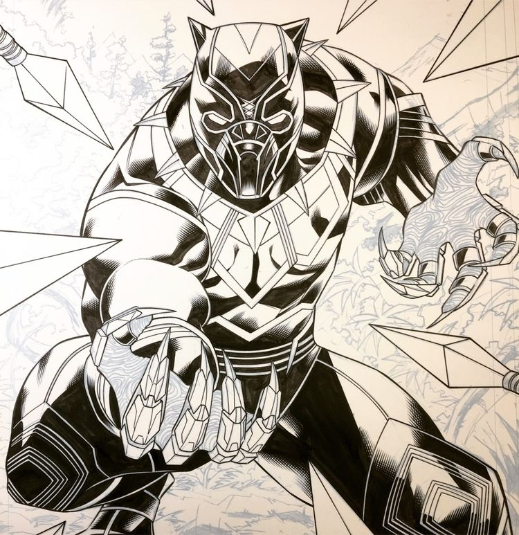 blackpanther, commission, taper - waldenwong | ello
